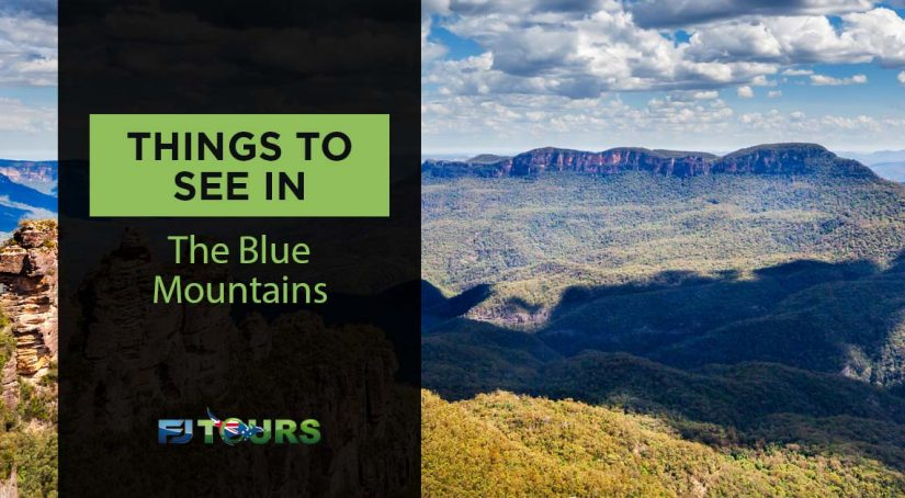 things to see in the blue mountains