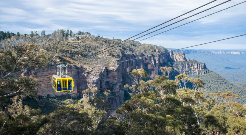 Cable Car Rides At Blue Mountains