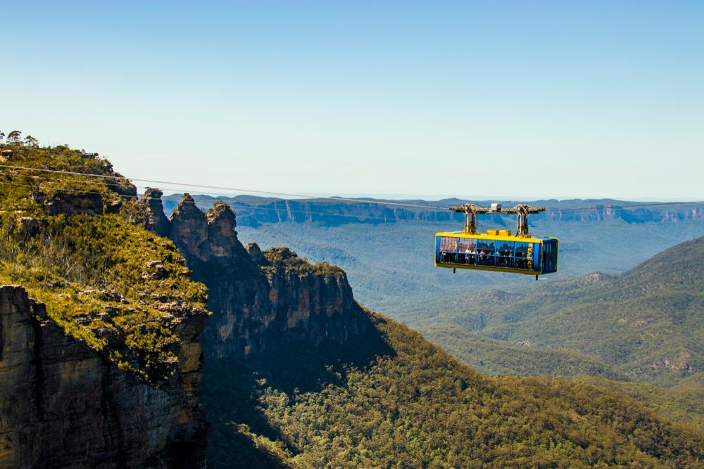 scenic world - blue mountain tour