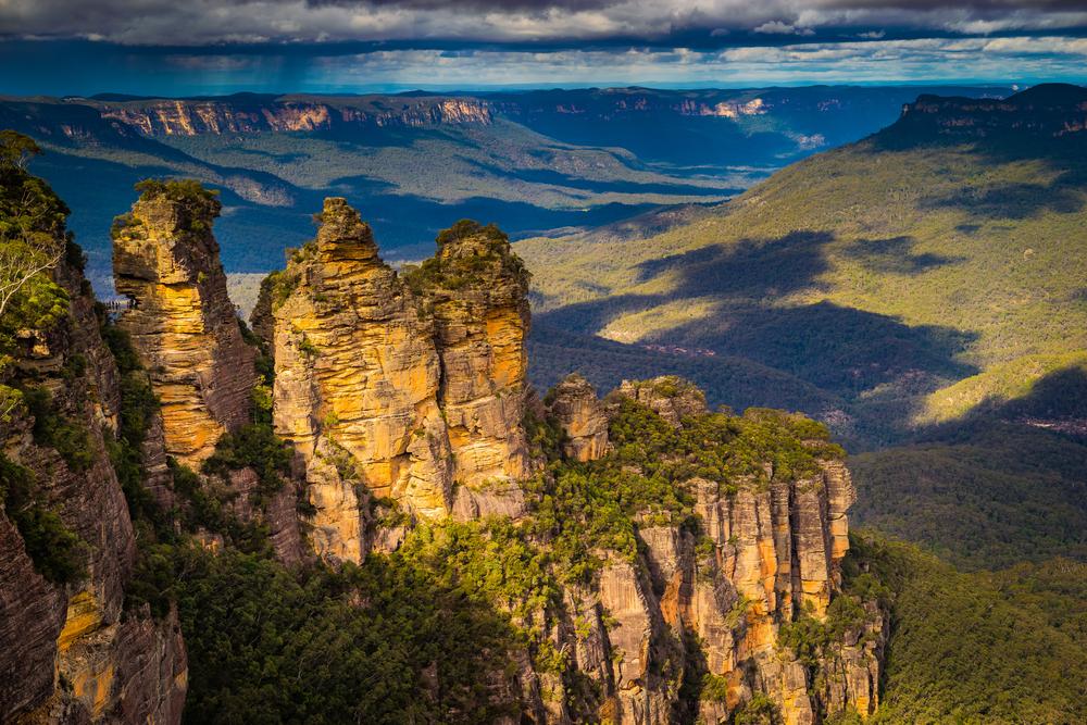 three sisters - blue mountain tour