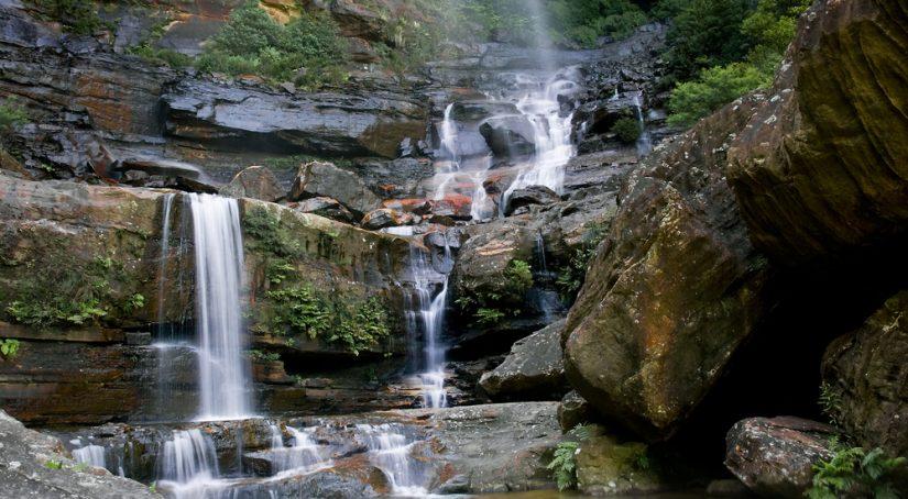 Blue Mountains Tour Wentworth Falls hiking trail