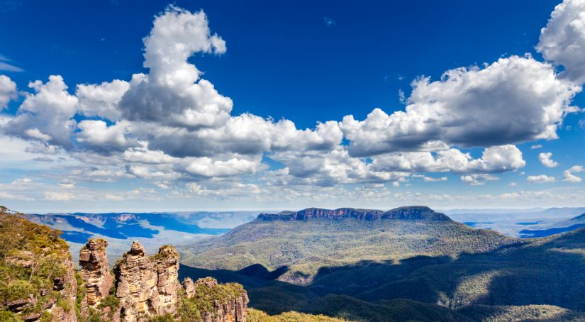 Ruined castle - blue mountains day tours